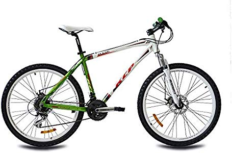 kcp 26 zoll mountainbike hardtail pulse weiss gr n mountain bike mit 24 gang shimano acera. Black Bedroom Furniture Sets. Home Design Ideas