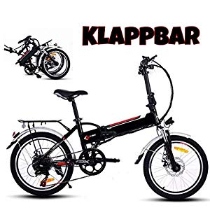 ultrey e bike klapprad 16 zoll 20 zoll elektrofahrrad. Black Bedroom Furniture Sets. Home Design Ideas